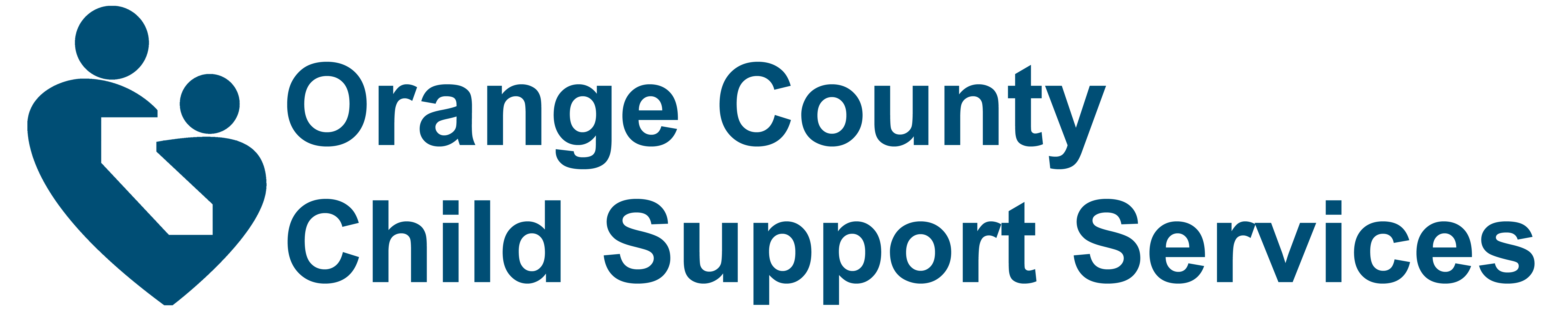 Orange County Child Support Services Logo -- Home