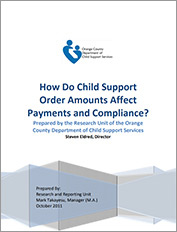How Do Child Support Order Amounts Affect Payments and Compliance?