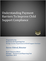 Understanding Payment Barriers To Improve Child Support Compliance